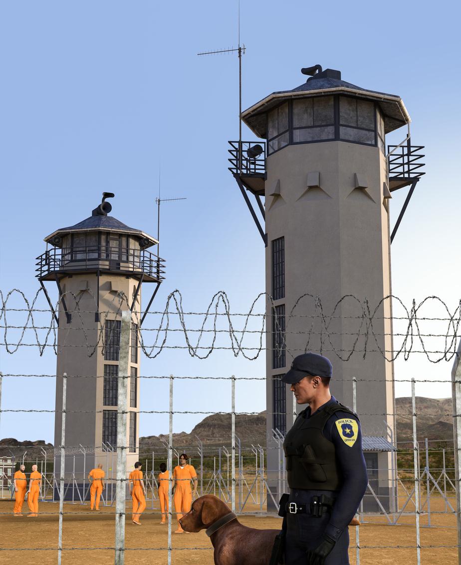 Photo of covid-19 spread in U.S. prison system