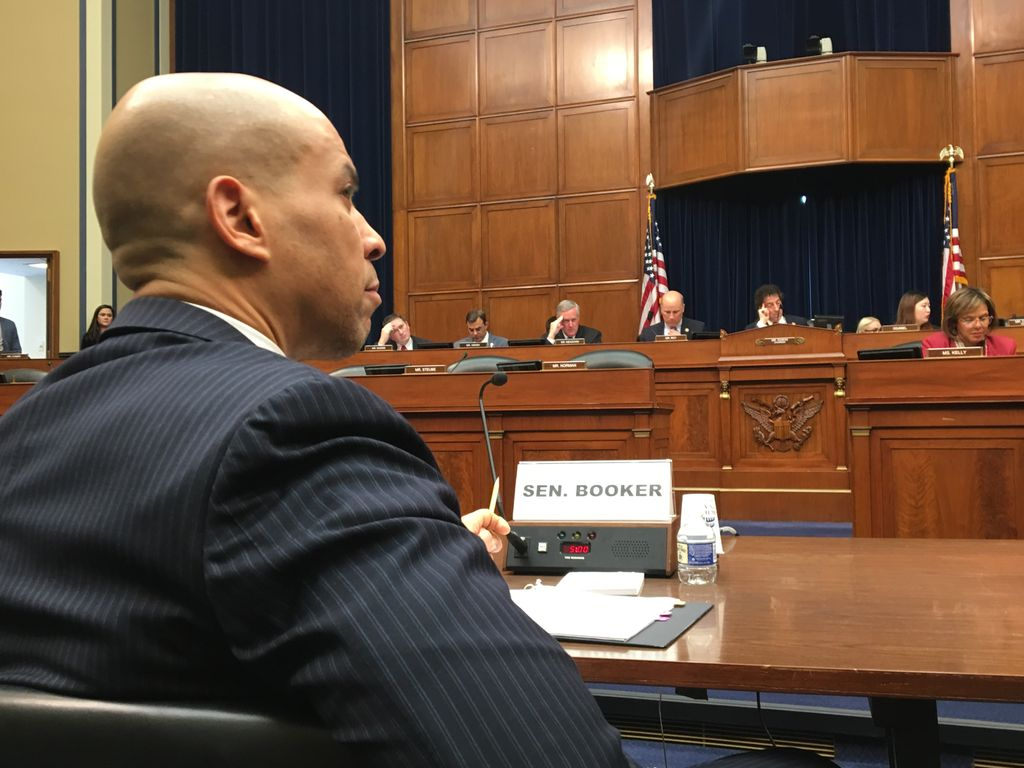 "Cory Booker was part of the criminal justice reform effort known as ""Ban the Box."""