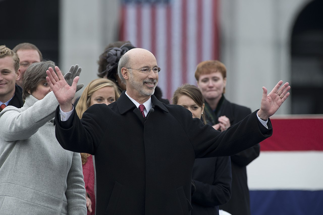 Governor Tom Wolf issued 310 pardons in Pennsylvania.