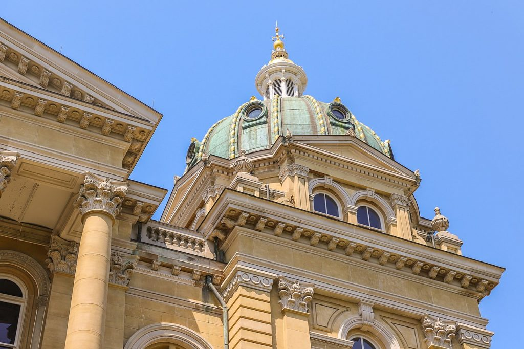 """Three bills that came from Gov. Reynolds' """"Back the Blue Act"""" are moving forward in the Iowa legislature."""