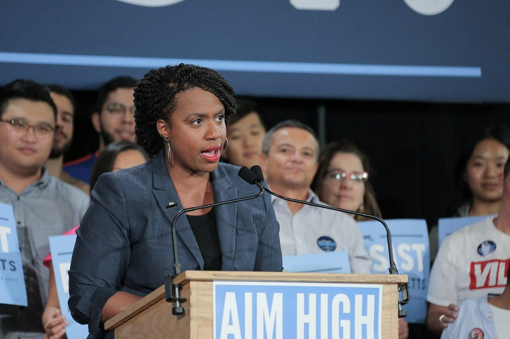 Ayanna Pressley authored The People's Justice Guarantee.