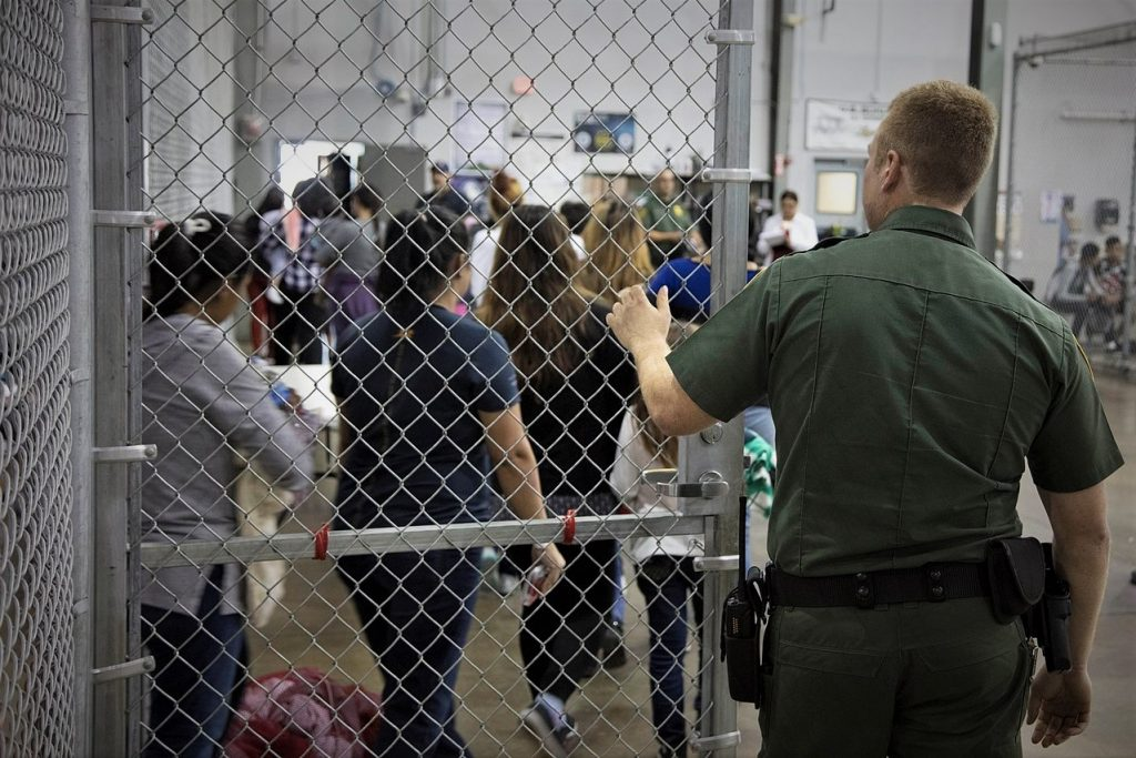 The prison industrial complex has resulted in private prisons that are increasingly being used to hold immigrants.