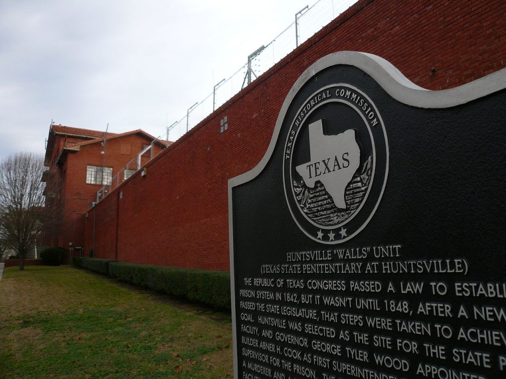 Quintin Jones received the death penalty at Huntsville Unit in Texas.