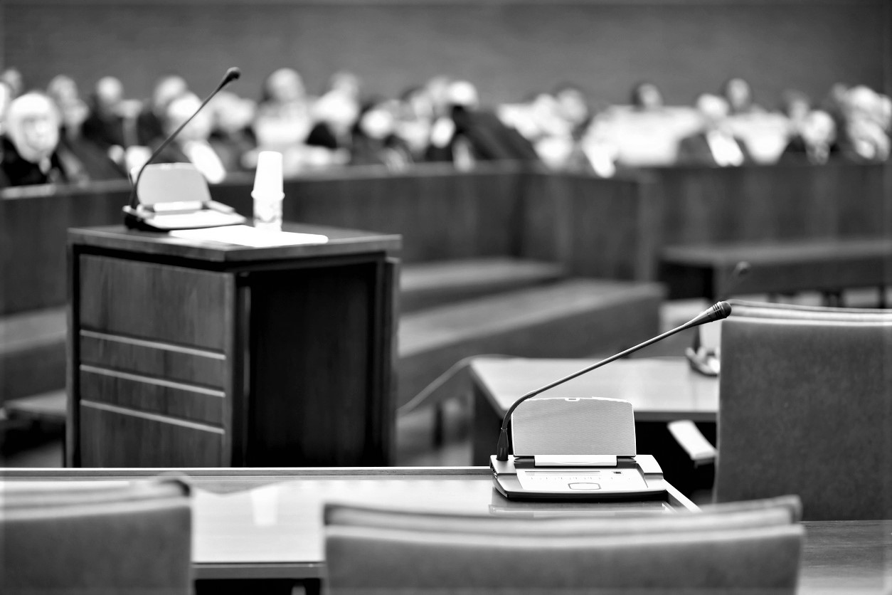 Juries are almost exclusively devoid of people with a criminal record.
