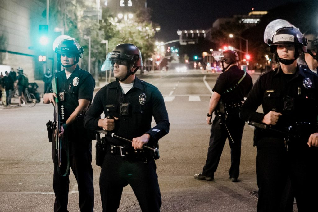 The police department budget has been a hot topic among activists.