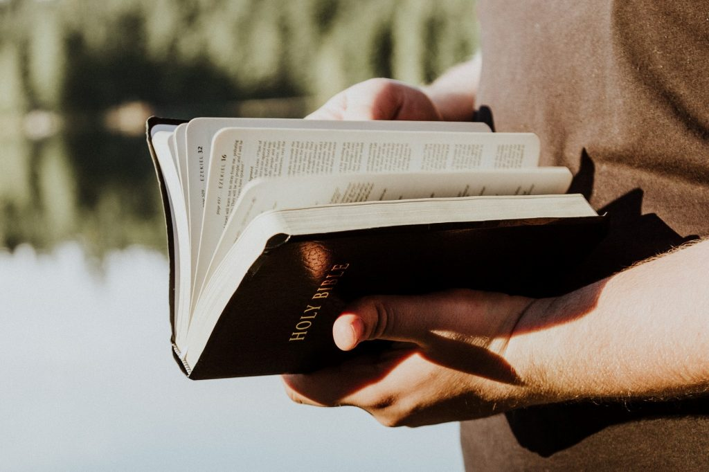 Religious items like holy books are part of the protection of religion in prisons.
